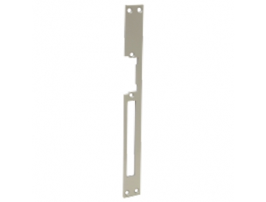 Long Striking Plate Steel with Hole for Electric Strikes Omnia Micro 03130 Opera
