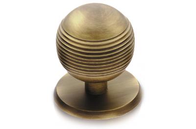 Galaxia Ø70 Brass Knob for Door PFS Pasini