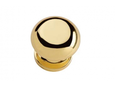 Garda 400 PT Fixed Knob for Doors Linea Calì Round and Classic Made in Italy