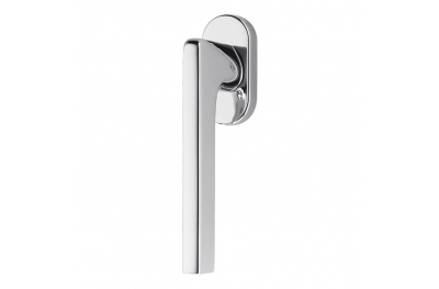 Gira DK Dry Keep Window Handle British Style with Rounded Shape by Colombo Design