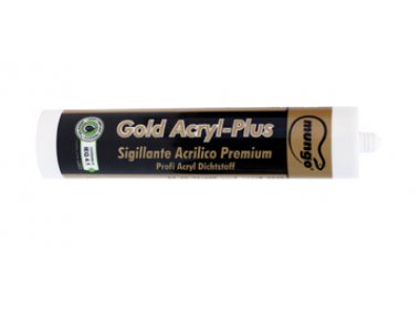 GOLD ACRYL-PLUS 310 ml Premium Acrylic Sealant LEED® Mungo