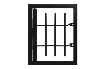 Grate 1 Strong Door Without Joint Security Class 4 Chassis Standard Leon Openings