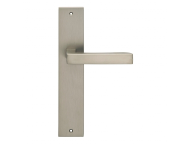 Hammer Series Fashion forme Door Handle on Plate Frosio Bortolo Minimal Style