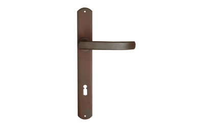 Helsinki Galbusera Door Handle with Plate