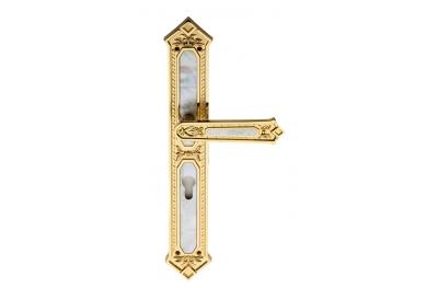 King Jewellery Line PFS Pasini Door Handle on Plate