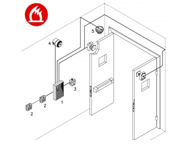 Complete Kit Single Zone Fire Opera Ready for Installation Compliance EN54