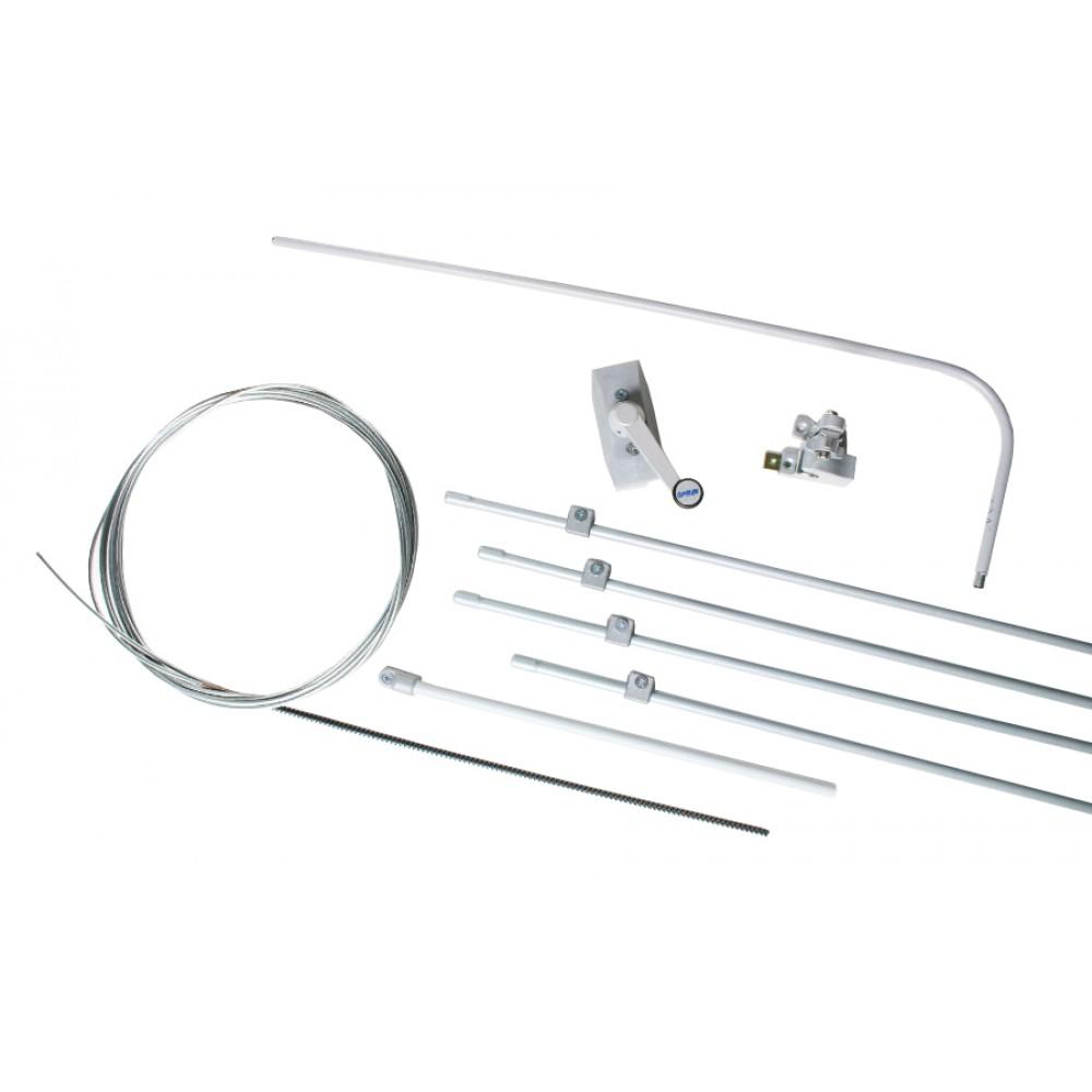 Complete Kit for Single Vasistas Ultraflex UCS Manual Opening Mechanism for Window