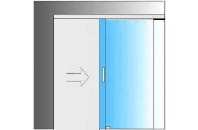 Glass Sliding Door Kit MiniSlide SbyC System