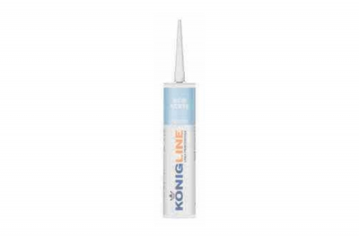 Konigline Eco Acryl White Acrylic Silicone for Doors and Windows