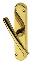 Luna Cremone Bolt Window Handle Brass-made Easy Line PFS Pasini