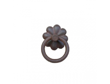 Handmade Furniture Handle Ring Galbusera 025 in Artistic Iron