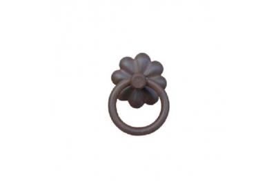 Handmade Furniture Handle Ring Galbusera 025 in Artistic Iron