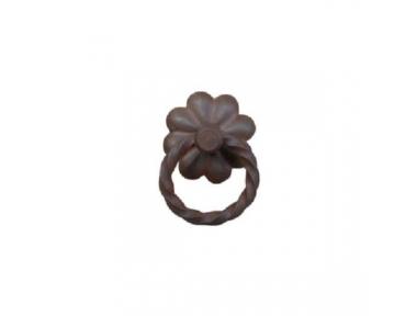 Handmade Furniture Handle Ring Galbusera 029 in Artistic Iron