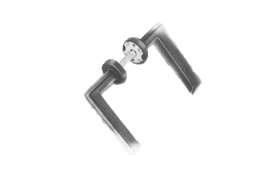 Handle Double Ibiza Spes. 20-90mm Savio for Doors gates and Gates Iron