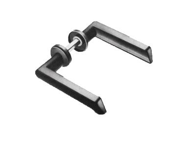 Handle Double Ibiza Spes. 40-65mm Savio for Doors gates and Gates Iron