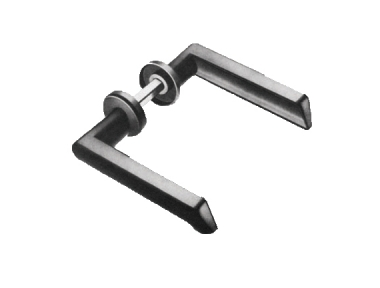 Handle Double Ibiza Spes. 20-45mm Savio for Doors gates and Gates Iron