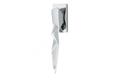 Window handle DK of the Famous Architect Zaha Hadid H356 F RS-41 ZH Duemilacinque Fusital Valli & Valli