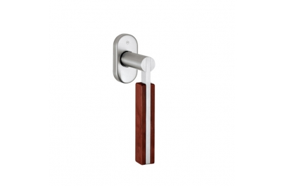pba 2001.YOD.DK Handle for Windows in Wood and Stainless Steel AISI 316L