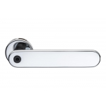 Door Handle with Personalized Writing H 1055 Words by the Italian Designer Franco Poli for Valli & Valli