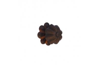Artistic Cabinet Handle Knob Galbusera 042/R in Handmade Iron
