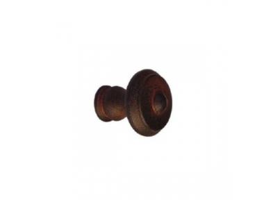 Artistic Cabinet Knob Galbusera 043 in Handmade Iron