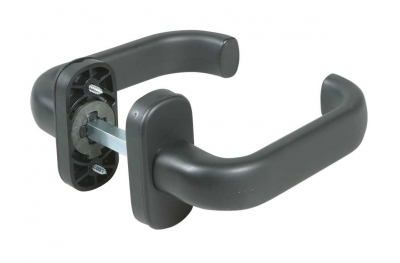 Plastic Handles with Spring Black Colour IBFM