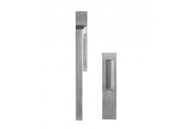 Square Lift and Slide Handle Brass-Made Fashion Line PFS Pasini
