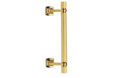 Esagonale Door Pull Handle Brass-Made Fashion Line PFS Pasini