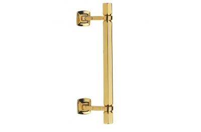 Esagonale Door Pull Handle Brass-Made Fashion Line PFS Pasini