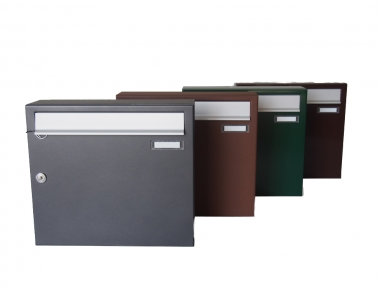 Master Zwick External Single Mailbox Various Colors