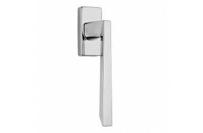 Mercury Series Fashion forme Dry Keep Window Handle Frosio Bortolo Polished Chrome