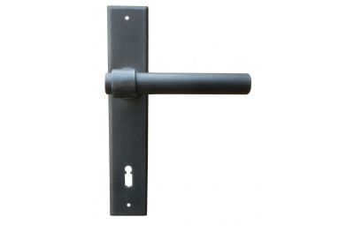 Milan Galbusera Door Handle with Plate