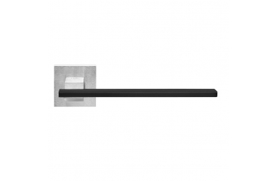 Milano Handle on Square Rose Brass with Satin black insert Pfs Pasini i-Design