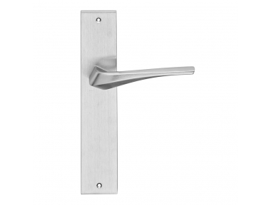 Minerva Series Fashion forme Door Handle on Plate Frosio Bortolo Contemporary Design