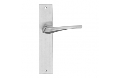 Minerva Series Fashion forme Door Handle on Plate Frosio Bortolo Contemporary Design