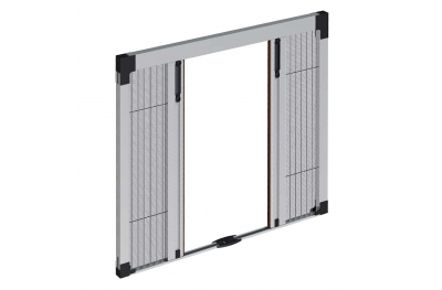 Mini Plissè Pronema Pleated Double Sideways Insect Screen 23mm Overall