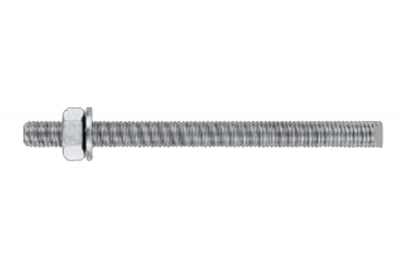 MIT-B Galvanized Threaded Bar 5.8 Washer Nut