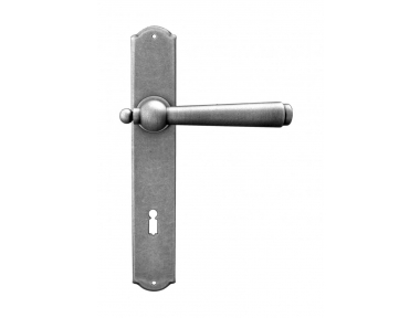 Munich 2 Galbusera Door Handle with Plate