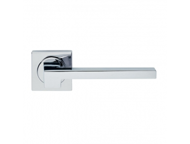 Morphos Light Design Manital Polished Chrome Pair of Door Lever Handles