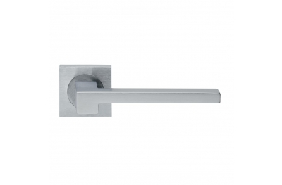 Morphos Light Design Manital Satin Chrome Pair of Door Lever Handles