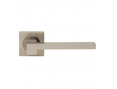 Morphos Light Design Manital Satin Nickel Pair of Door Lever Handles