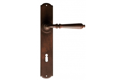 Moscow Galbusera Door Handle with Plate