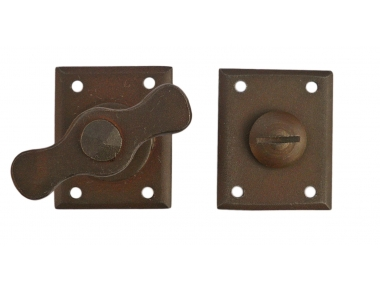 WC Privacy Snibs 14-10 Galbusera Wrought Iron Different Finishes