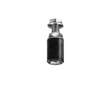 Oliva Cylindrical Brass Savio for Sliding Gates Galvanized Steel