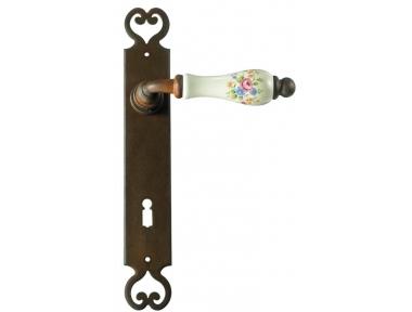 Paris Galbusera Door Handle with Plate