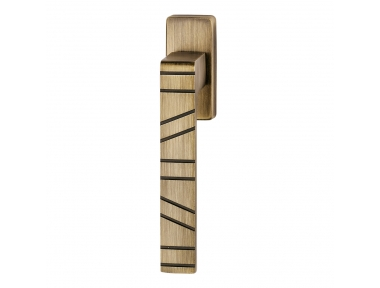 Paris Series Fashion forme Dry Keep Window Handle Frosio Bortolo With Lines Pattern