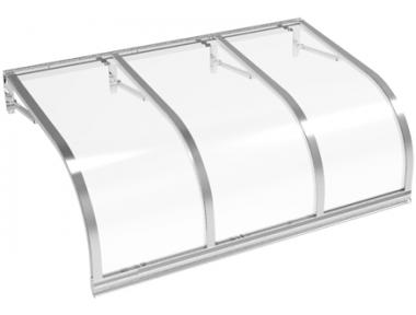 Cassiopeia shelter Aluminium Transparent Aluminium AMA Sun Protection