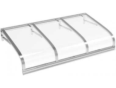 Shelter Euriga Transparent Aluminium Aluminium AMA Sun Protection