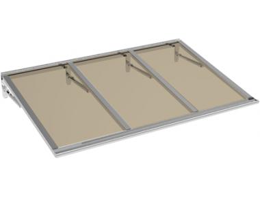 Shelter Lira Aluminium Bronze Aluminium AMA Sun Protection