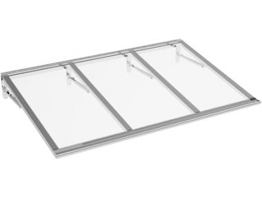 Shelter Lira Aluminium Transparent Aluminium AMA Sun Protection